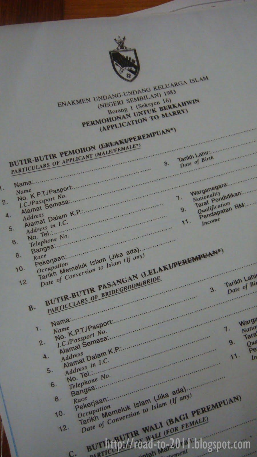 Our Road To 2011 And Beyond 100 Prosedur Pernikahan Di