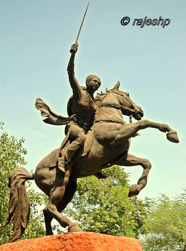 India Travel: Rani Laxmi Bai of Jhansi