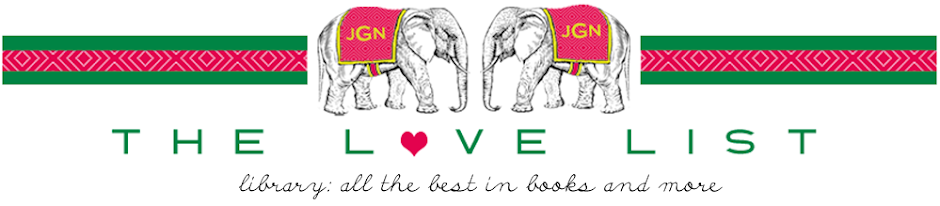 THE LOVE LIST: Library