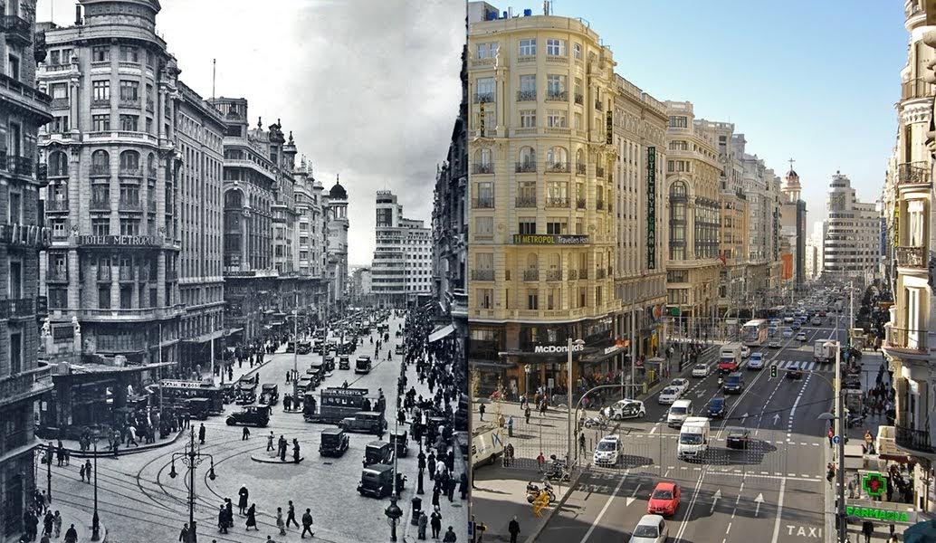 Geograf a e historia madrid a os 30 tierra de acogida for Oficinas del inss en madrid capital