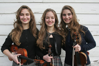 Grace, Sophia, & Hulda Quebe will bring their close harmonies and western swing fiddle licks to the Pioneer Museum in Fredericksburg on August 16 for the next Roots Music concert. Billy Mata and the Texas Tradition also perform for the western swing-themed Saturday night concert.