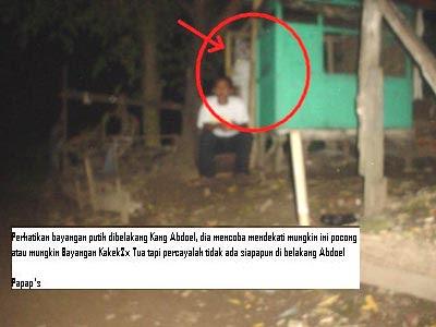 Penampakan Pocong | Sigit Hermawan Go Blog