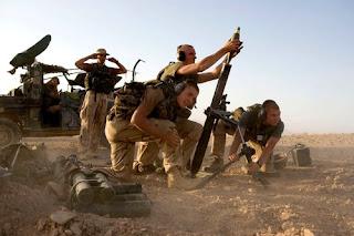 Militairen in Uruzgan
