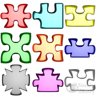 Puzzle pieces iocns