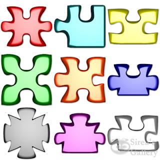 Puzzle pieces iocns