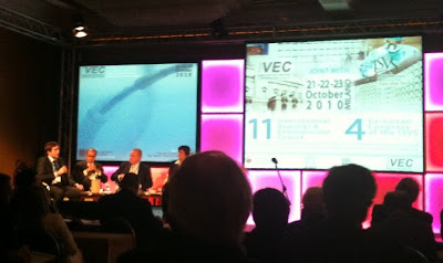 George Badham sitting as discussant on panel of IVEC and European Congress of the ISVS leading discussion on the treatment of Carotid Stenoses - Milan Oct 2010