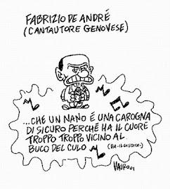 Fabrizio De Andrè cantava: