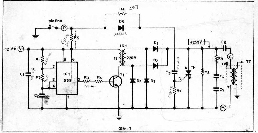 12 Volt DC CDI Diagram