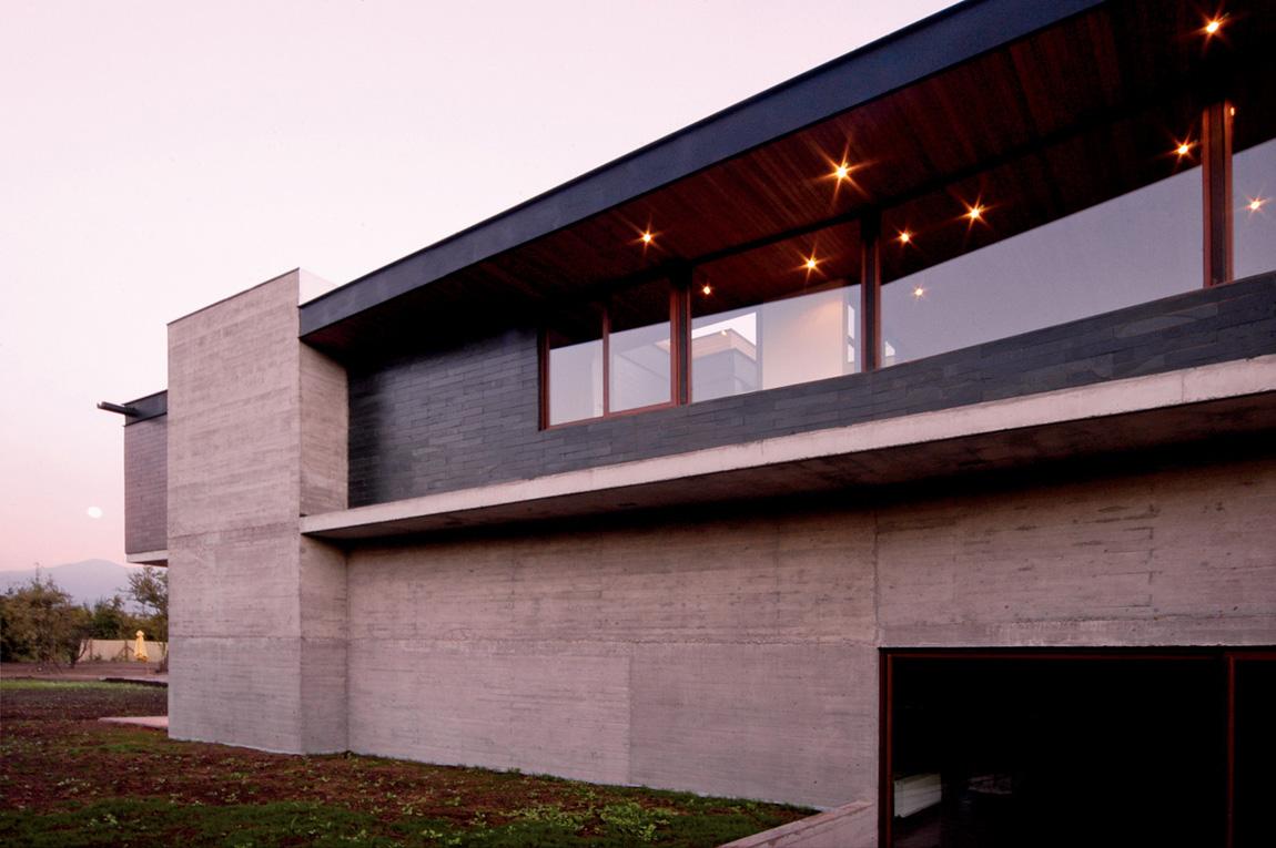 Casa Carvallal Dufey Mas Y Fern Ndez Arquitectos