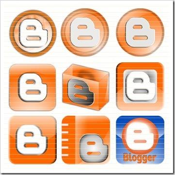 Cara Mengganti Icon Blogger