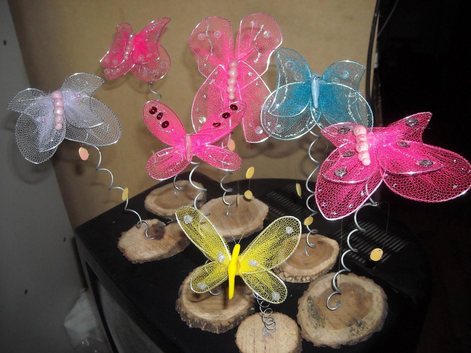 Mariposas Centros De Mesa Para Quinceanera
