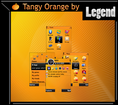 tangy Tangy Orange by Legend