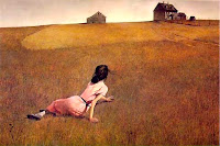 Christina's World - painting by Andrew Wyeth, 1948