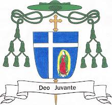 Escudo episcopal del Ilmo. +Sergio Martínez