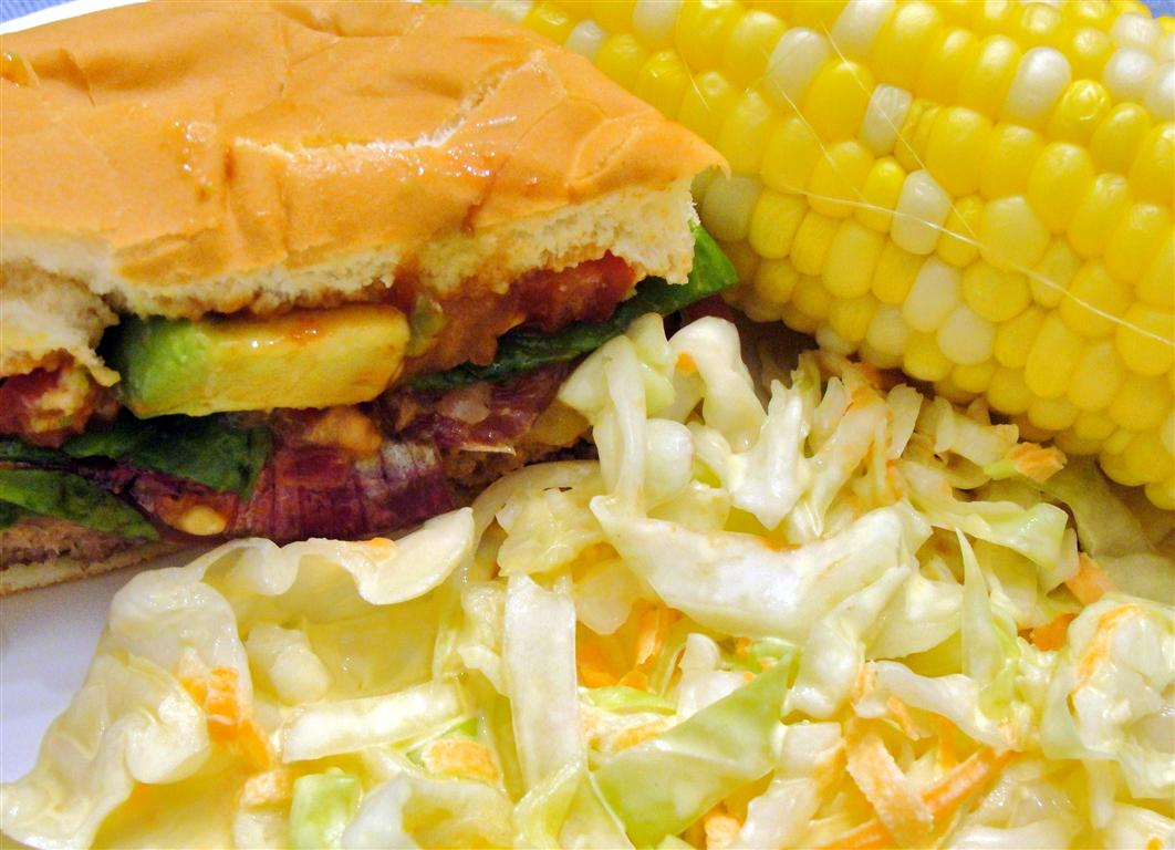 Japanese Burgers With Wasabi Ketchup Recipe — Dishmaps