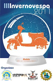 III InvernoVespa en Melide - 30 de enero
