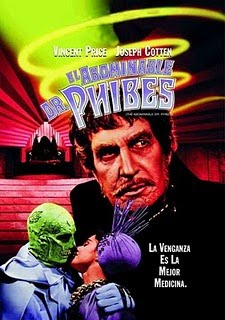 El Abominable Dr. Phibes Poster