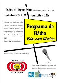 Programa na Rádio Lagoa
