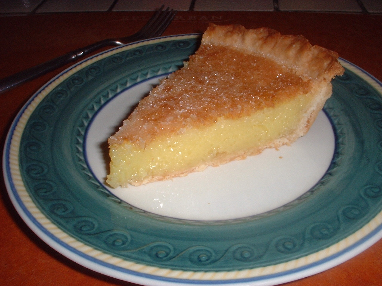 Lemon Chess Pie from Cook's Country, April/May 2010