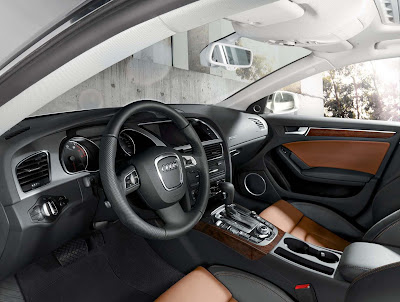 Official photos of the Audi A5 Sportback - Interior