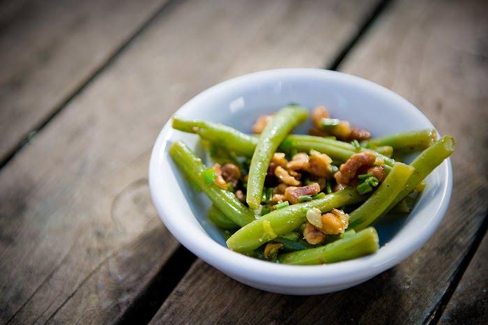 Nourishing Meals: Lemon-Walnut Green Bean Salad