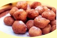 Receta buñuelos de fruta