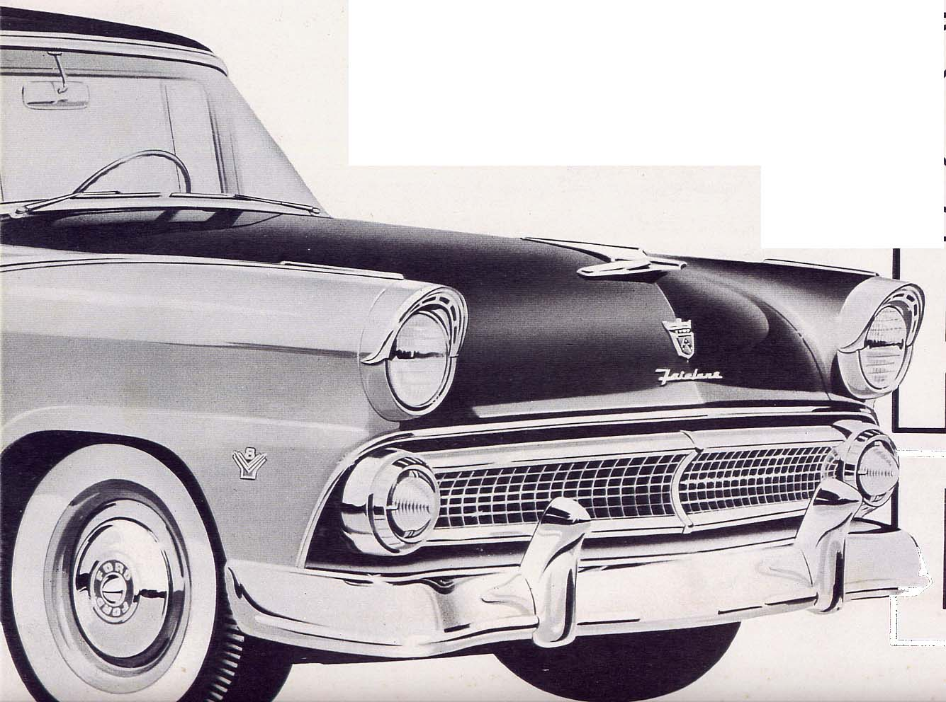 Old Cars Canada: 1955 Ford
