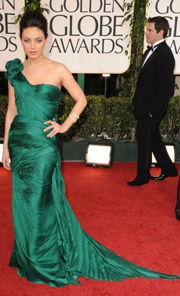 (top photos: Angelina Jolie in Atelier Versace, Megan Fox in Armani Privé)