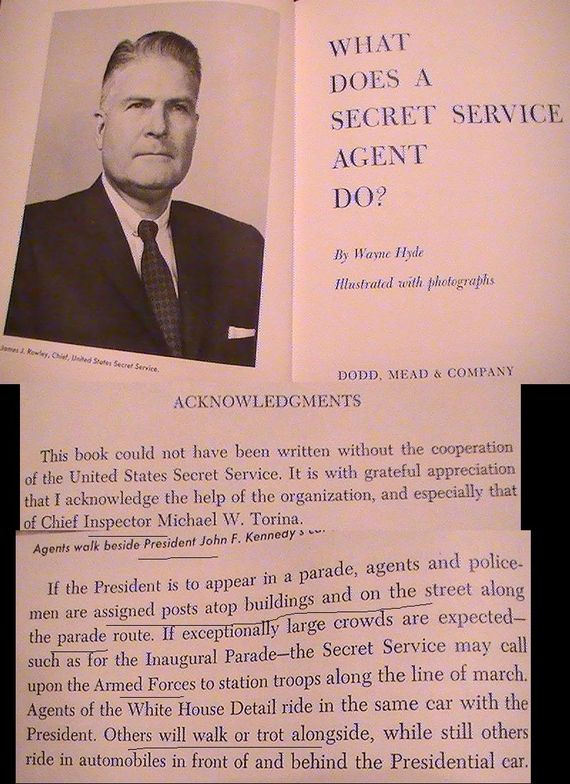 1962 book tells the truth (Mike Torina helped write the Secret Service manual, too)