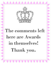NO  AWARDS  PLEASE - but thank you for all previous ones!
