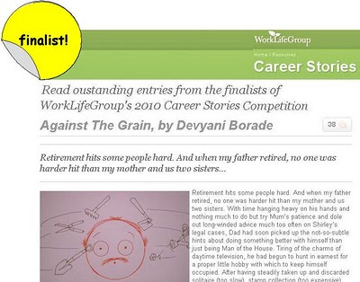devyani borade - verbolatry - against the grain - work life group