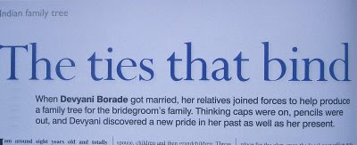 devyani borade - verbolatry - the ties that bind - family tree magazine