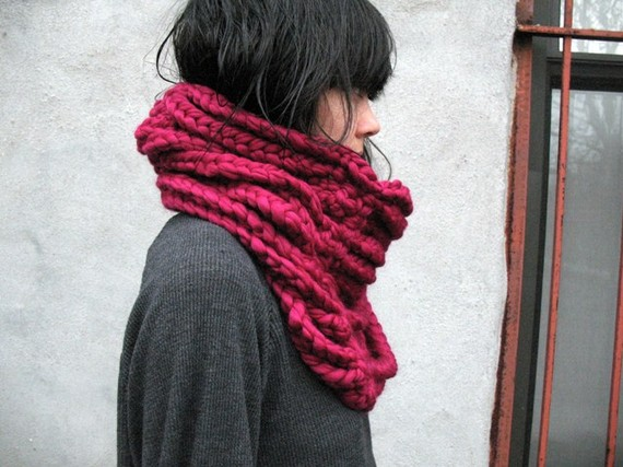Fabulous neck scarf with different color