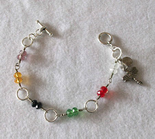 cod 2284 pulsera de finos cristales de colores