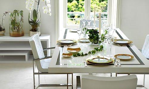 decoracao mesa branca:Blog Achados de Decoração: DE QUE COR É A MESA BRANCA DESSAS FOTOS?