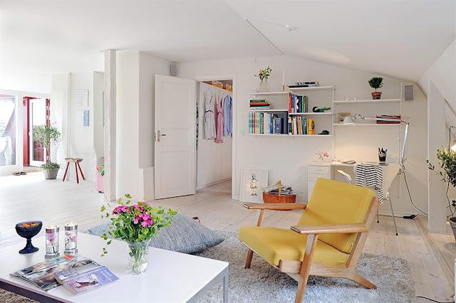 decorar pequenos espaços, apartamento de decorado