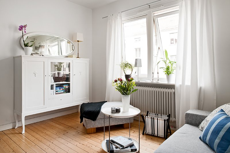 Blog achados de decora o apartamento pequeno pequeno for Como decorar una apartamento pequeno