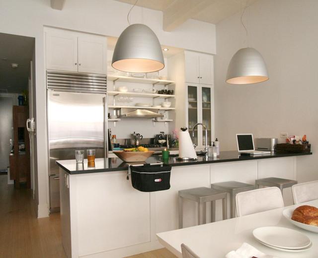 decoracao de cozinha integrada a sala de jantar:Kitchen Organization Shelving