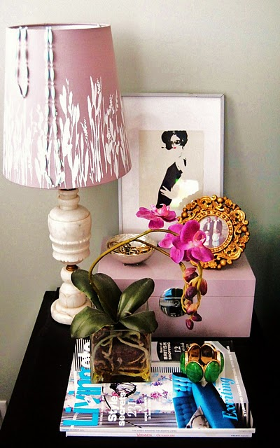 decoracao de kitnet gastando pouco:Side Table Decor Pinterest