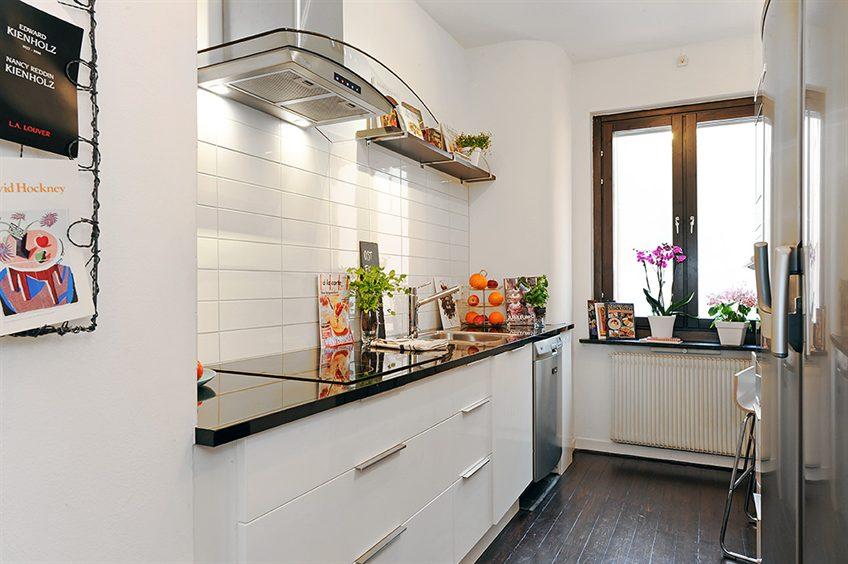 Decoracao quarto decora o de apartamento para ver com for Cocina con azulejos blancos