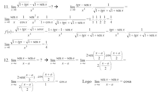 ⏩Cálculo de Límites de Funciones Trigonométricas y Mixtas II ...