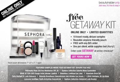 sephora getaway kit