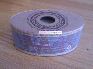 one bath and body massage calming bar