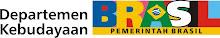 Esse é o logo do Ministério da Cultura do Brasil em indonês: