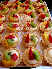 Fruit Tart  (  Fresh Fruits )