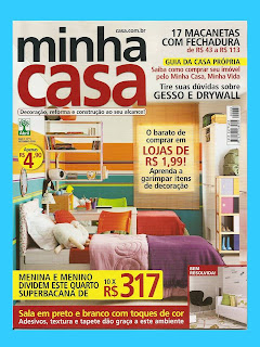 ENTREVISTA PARA REVISTA MINHA CASA