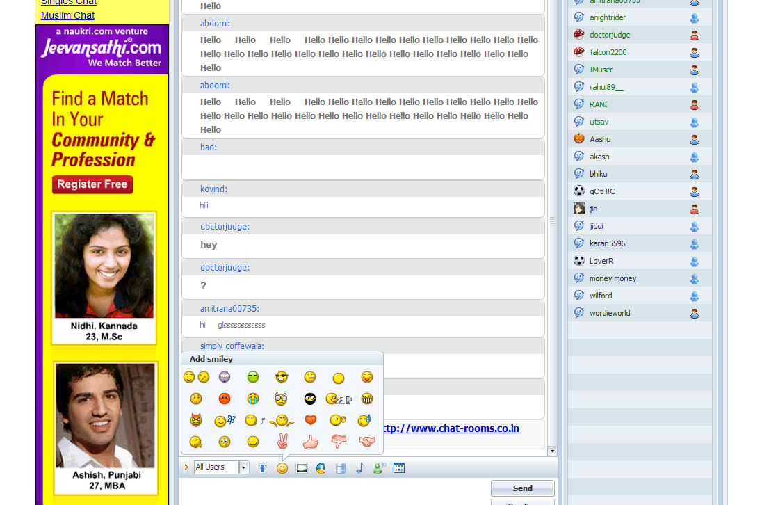 Online chat with my friend 2