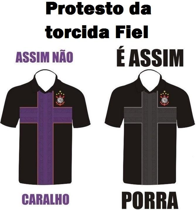 Porquê as torcidas organizadas Corinthianas não aceitaram a nova camisa do  Timão  0f313bad8663e