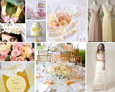 Light Pink And Yellow Wedding Colors -|- nemetas.aufgegabelt.info