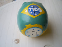 Cofre porquinho brasil